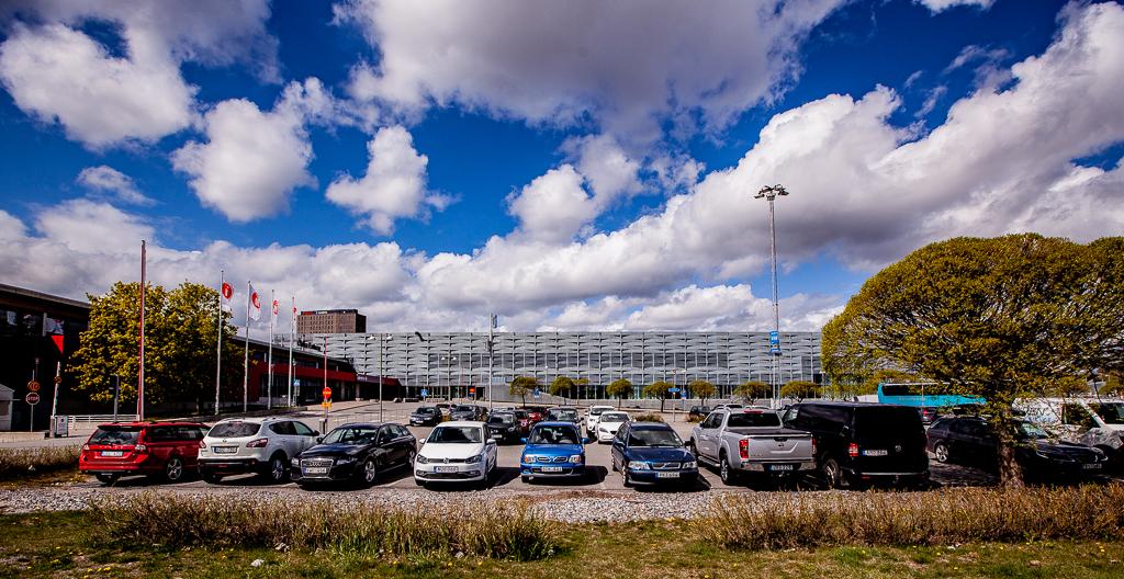4cfc6500794 Parkering på Stockholmsmässan